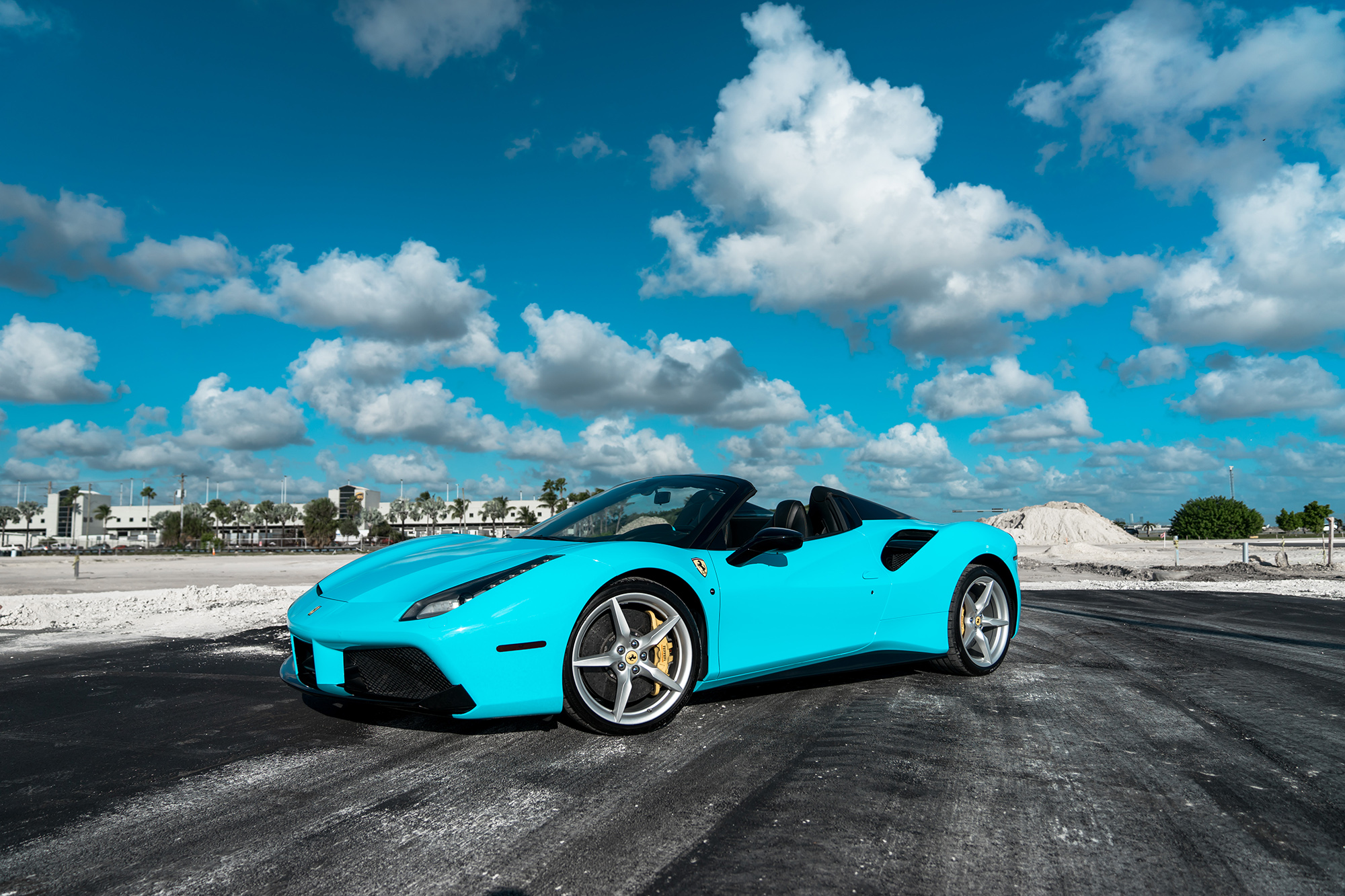 2018 Ferrari 488 Spider Tiffany Blue Boss Lifestyles Llc